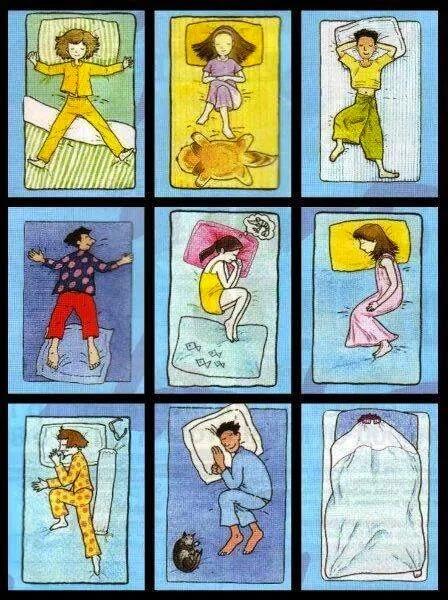 Mana satu gaya tidur anda?