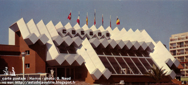 Les Sables-d'Olonne - Le casino de la plage  Architecte: R.G. Goujon  Construction: 1976  Destruction: 1995