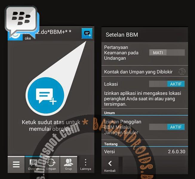 Download BBM2 Mod Tema Dark Official Versi 2.6.0.30