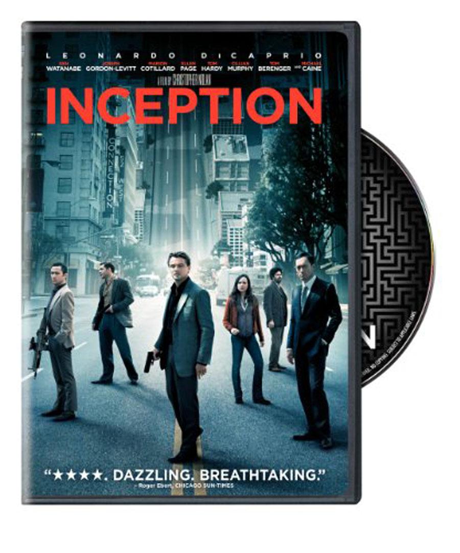 Inception Blu-ray Dvd Case Box
