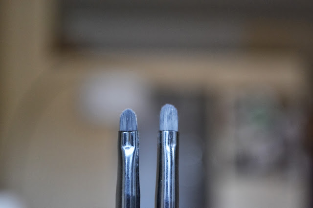 ELF Small Smudge Brush and ELF Small Precision Brush
