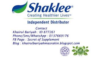 shaklee distributor desaru