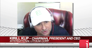 InvestorIntel: International Lithium Has A Giant's Attention.