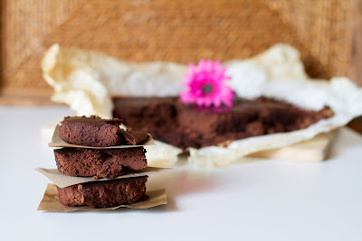 brownies al cioccolato senza glutine e a basso indice glicemico