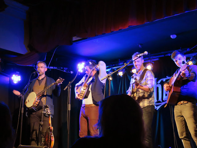 We Banjo Three Bluegrass Band plays Whelan's in Dublin