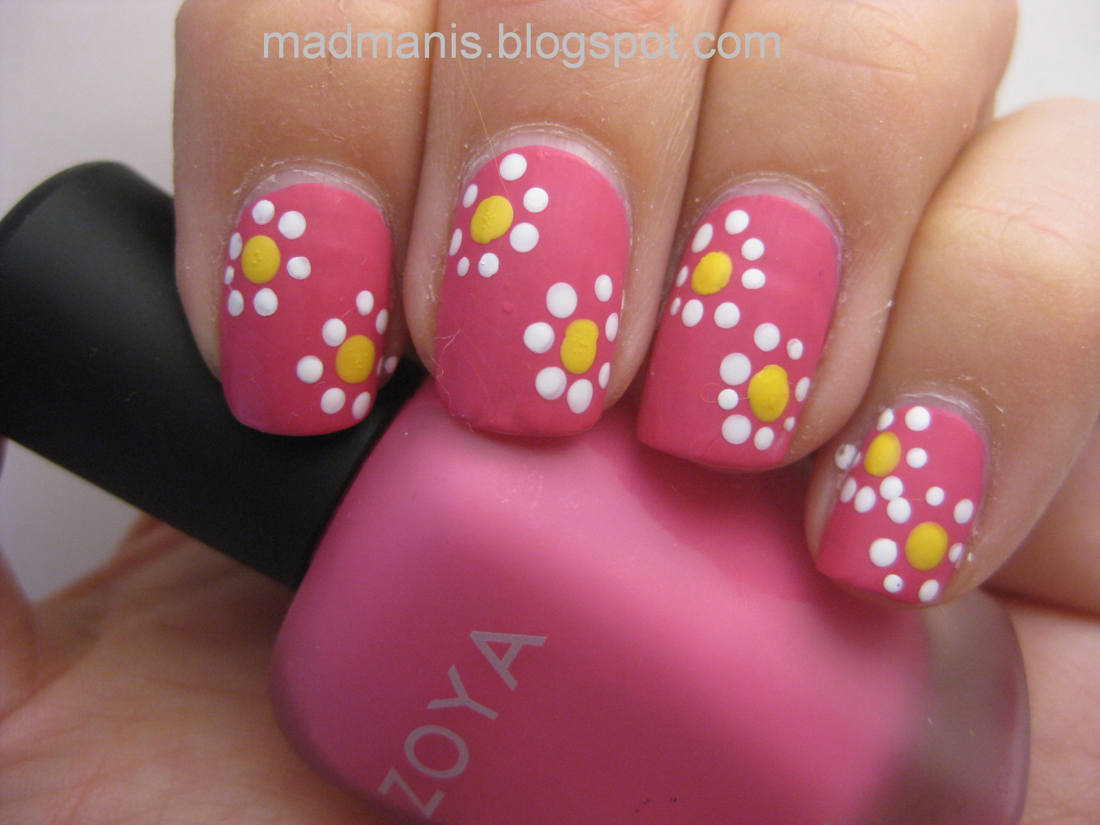 MaD Manis: Beginner Nail Art - using your dotting tool