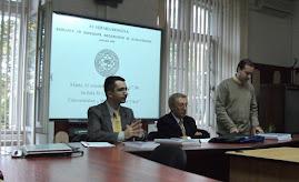 Aspect din timpul comunicării d-lui Filip-Lucian Iorga, CHGS-I, 11.10.2011...