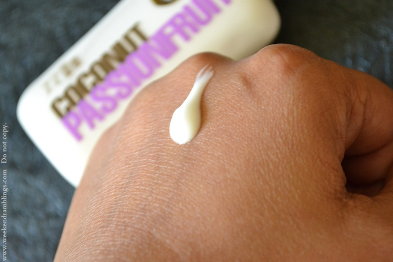 bath and body works signature collection coconut passionfruit lotion review