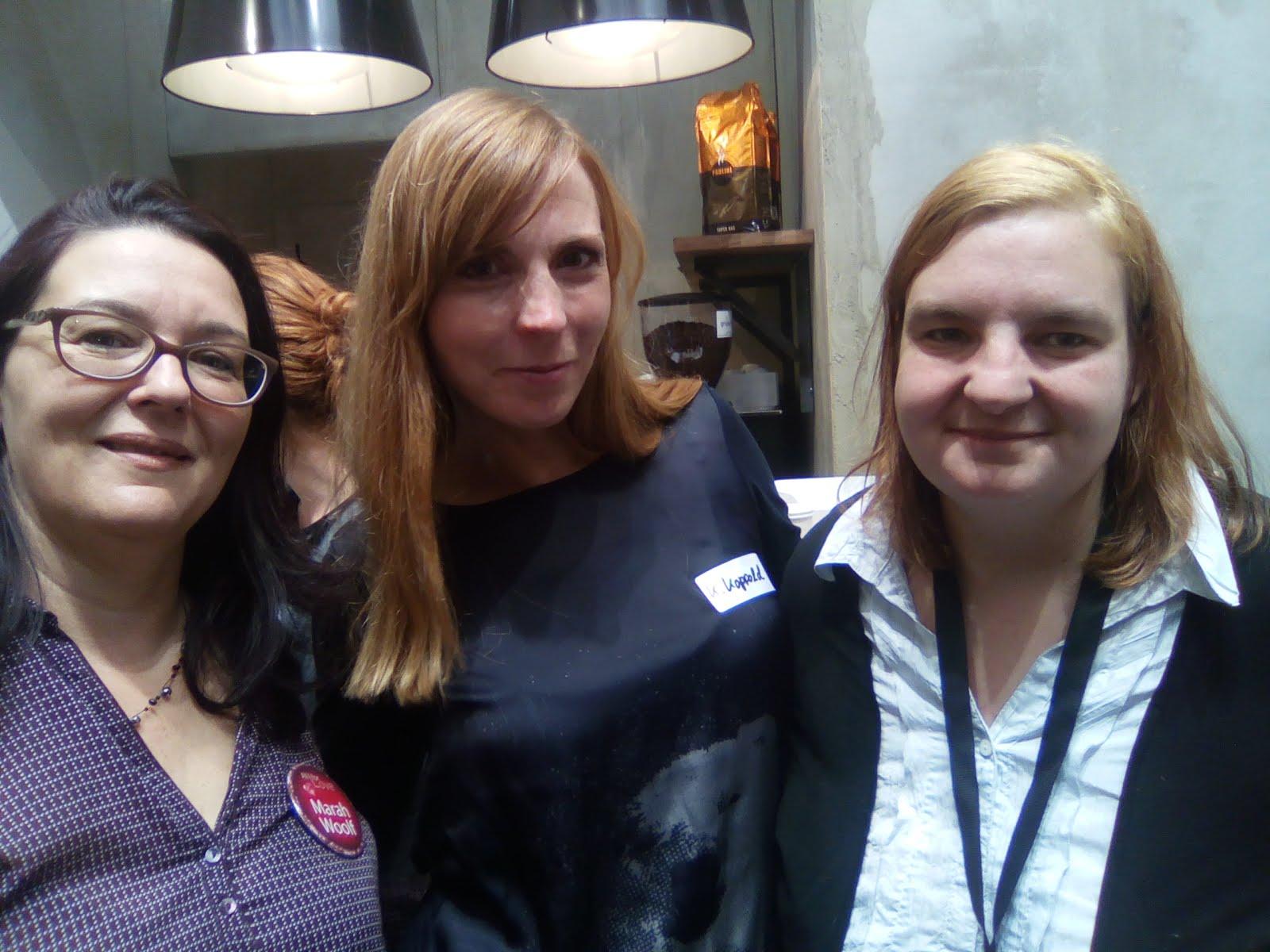 Marah Wolf,Katrin Koppold, und ich