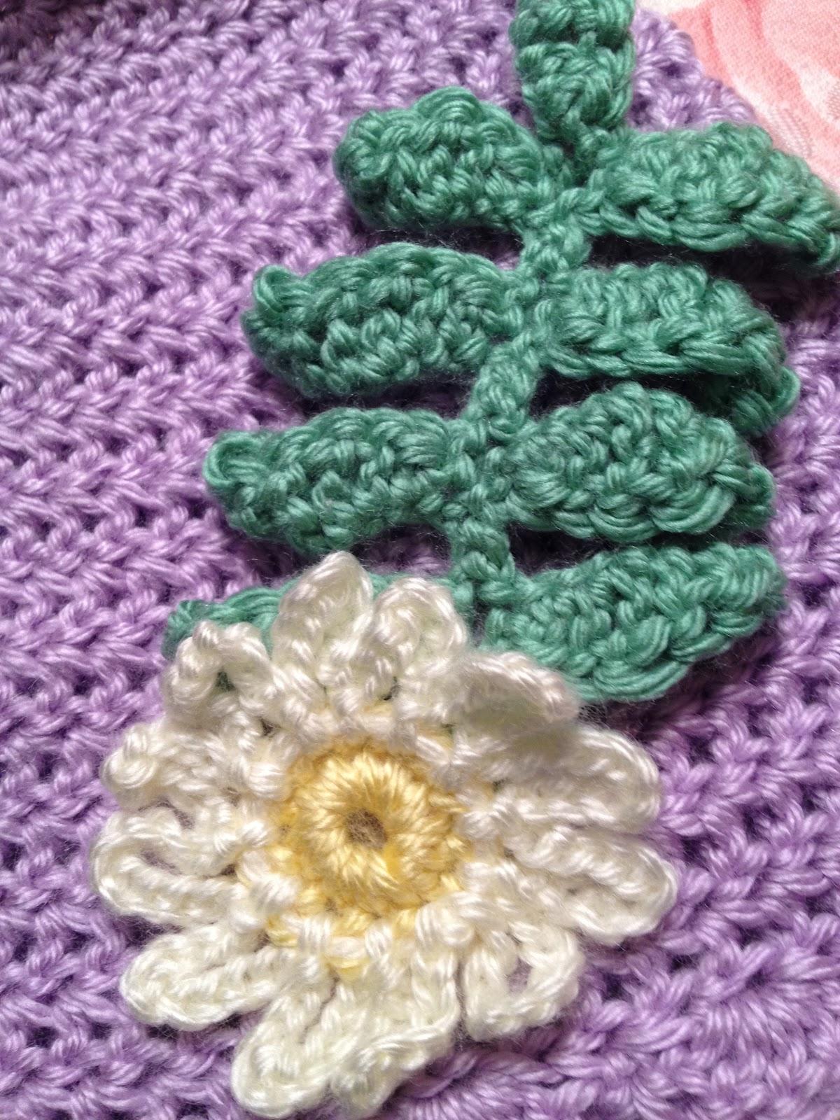 The Crocheted Cupcake: Crochet Fern Leaf