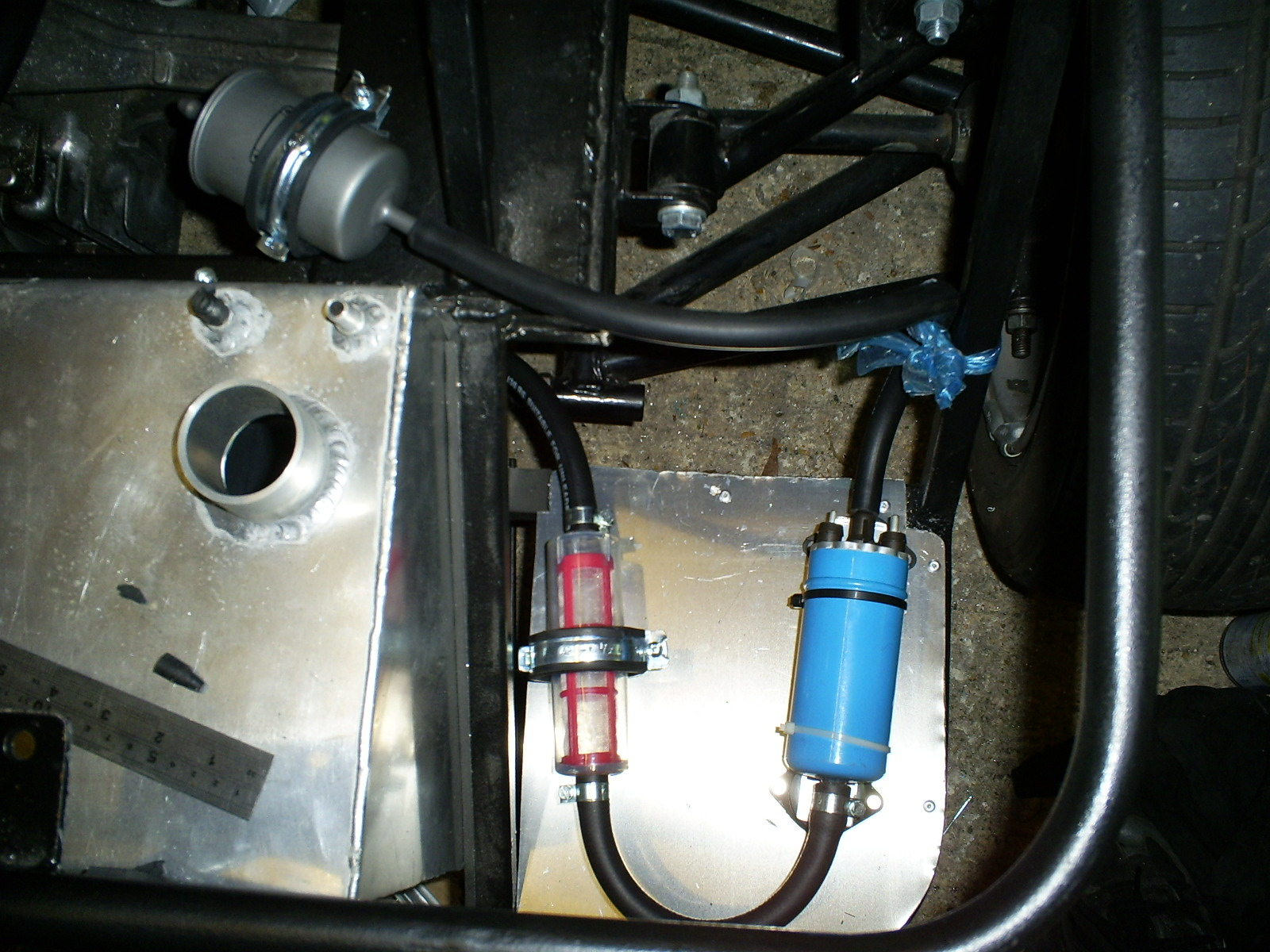Mx5 Haynes Roadster Fuel Pump And Filters Filter The Pre Is A Mesh Type To Catch Any Swarf From My Tank Main Tkf516 Used On Loads Of Cars 09l Cinquecento 42l A6