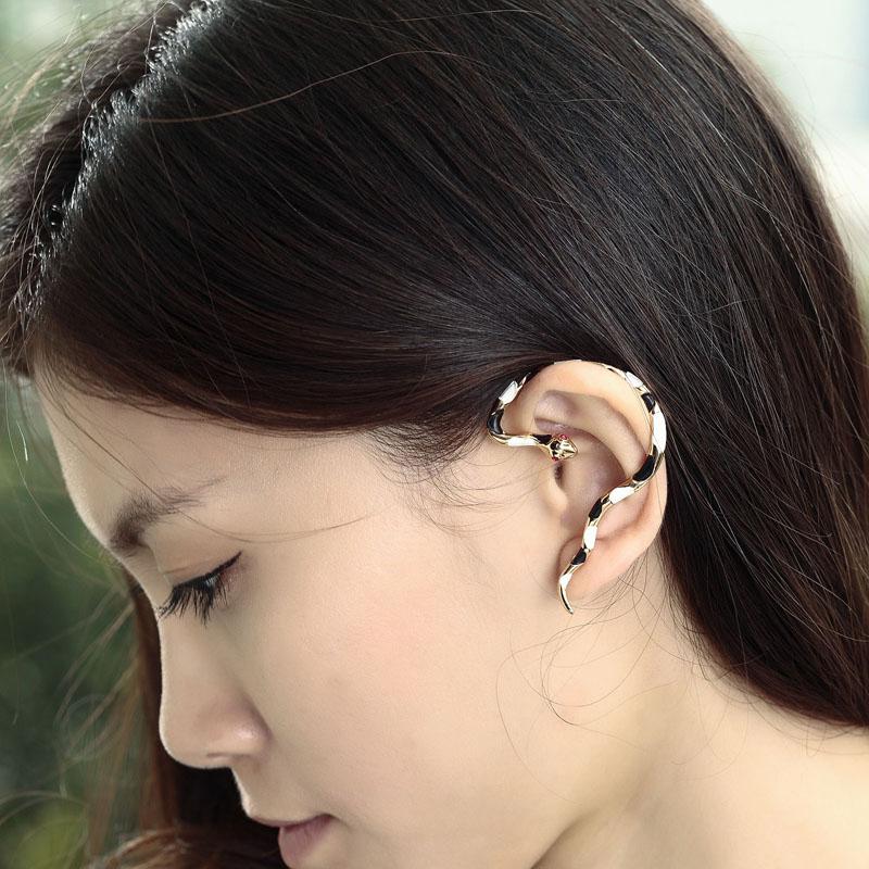 Earring cuff wrap pollo