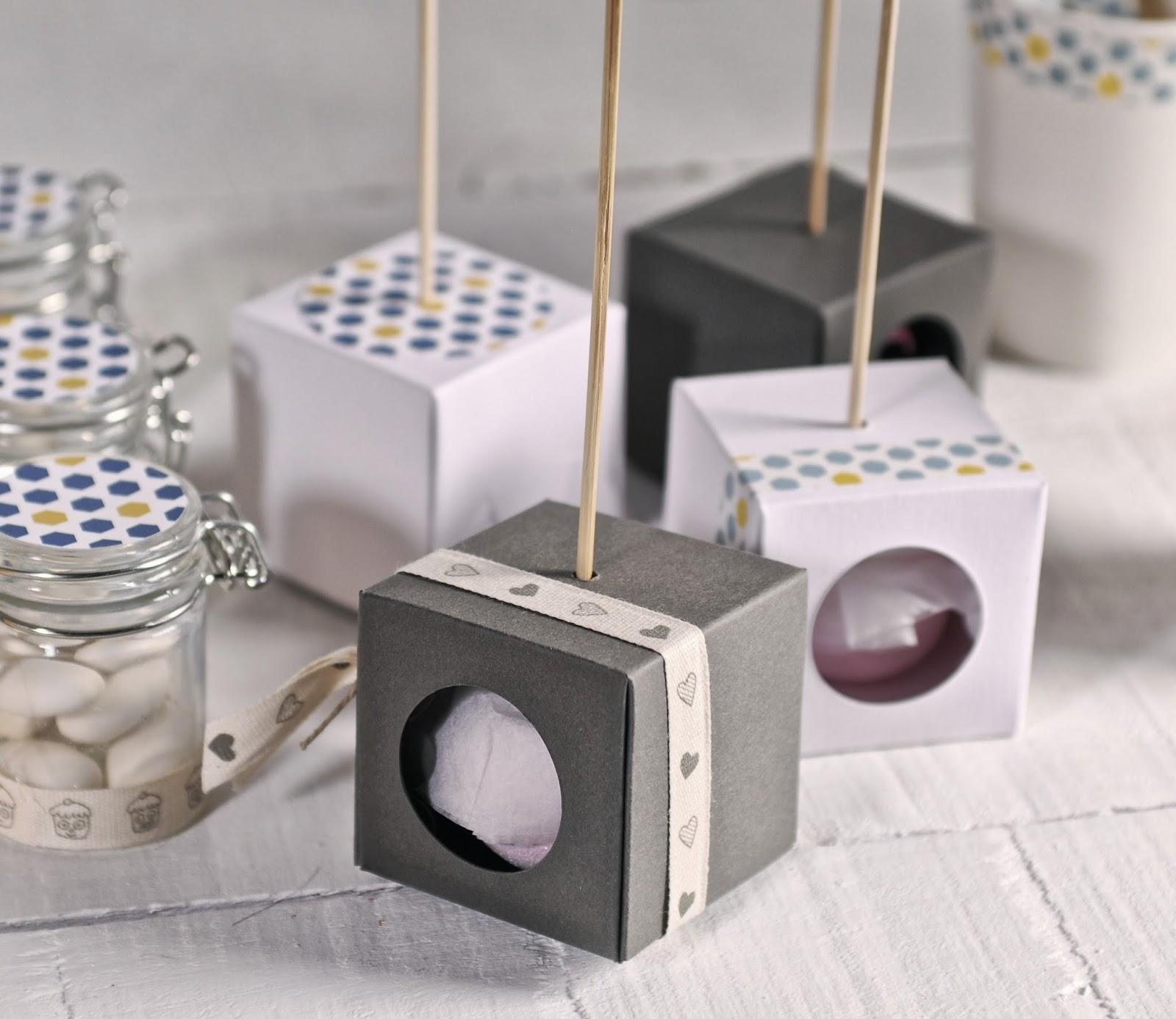 cajas para un cake pop, cajas para 1 cake pop, cajas para cake pops, detalles para boda, ideas para regalar en bodas
