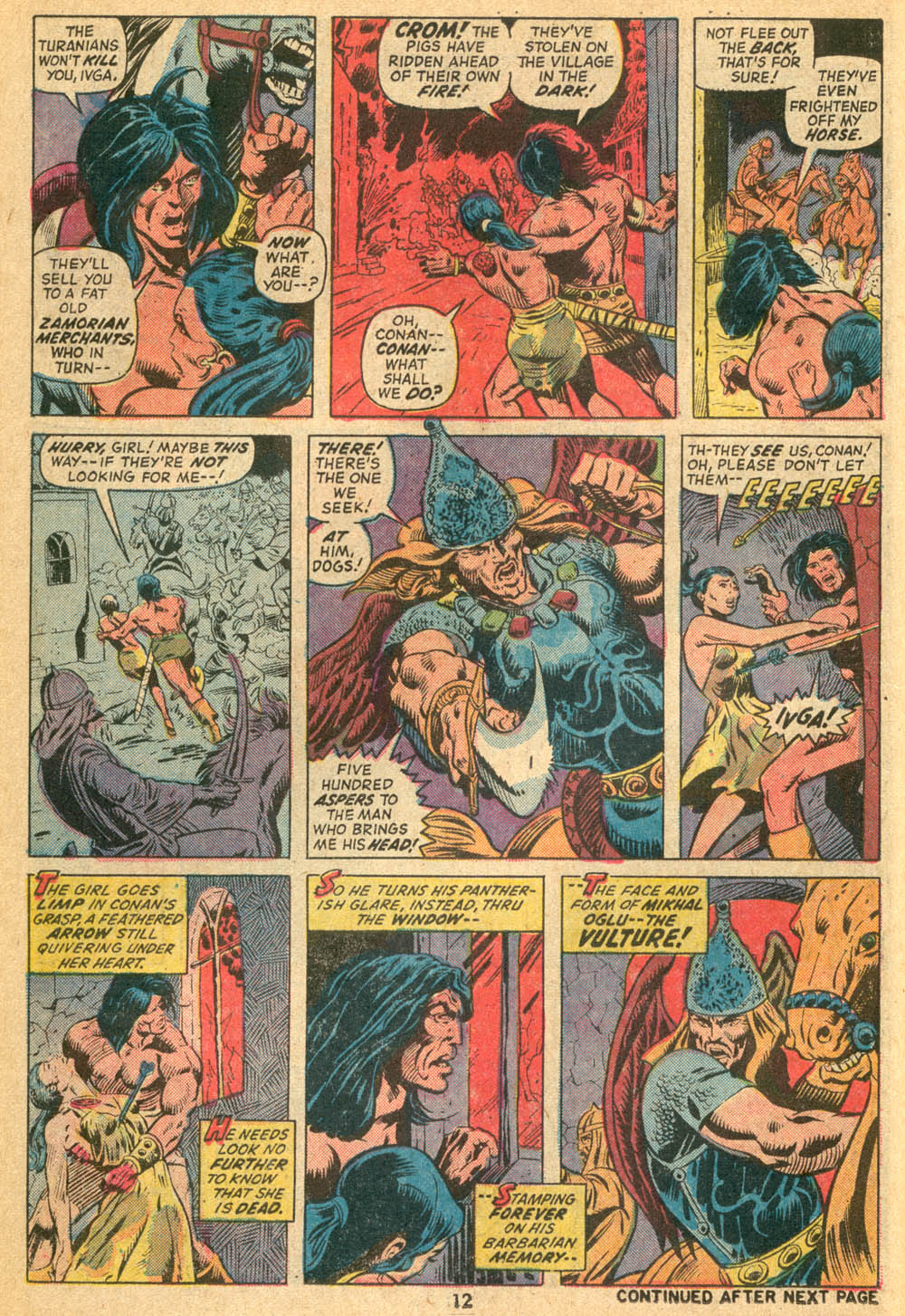 Conan the Barbarian (1970) Issue #23 #35 - English 10