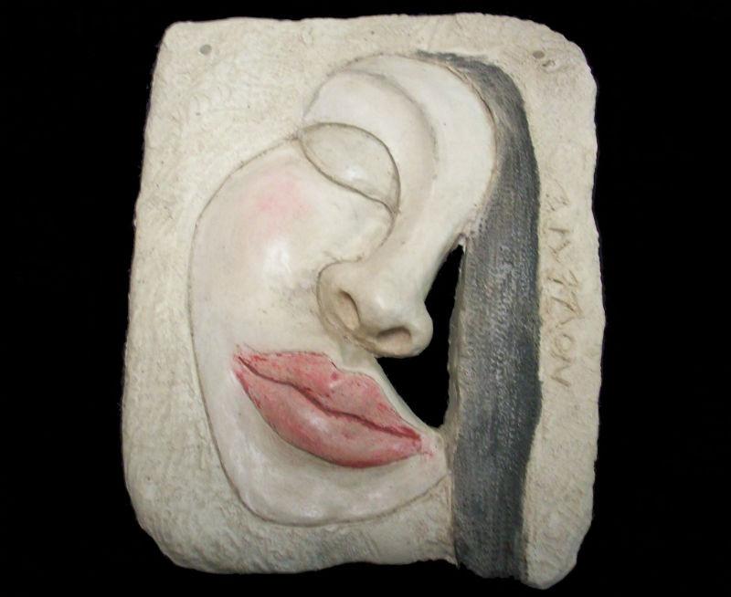 Bas-relief en terre cuite par Noizette Sculpteur (vide atelier)
