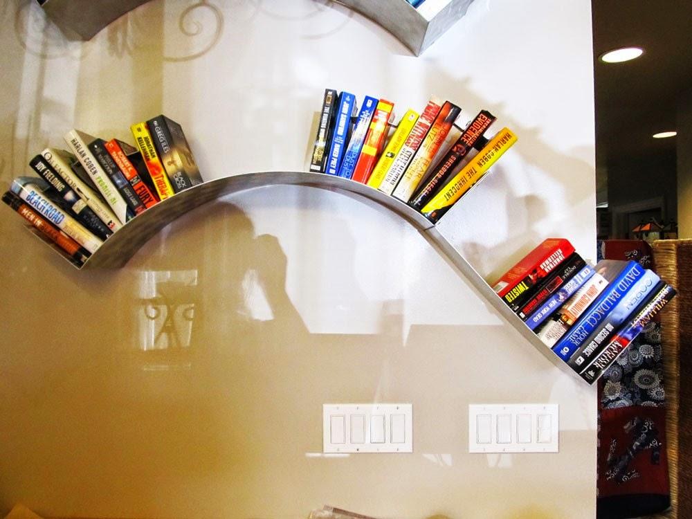 Awesome Decorative Hanging Bookshelf