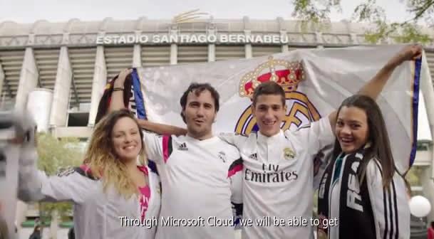 Microsoft lleva al Madrid al Prime Time en USA