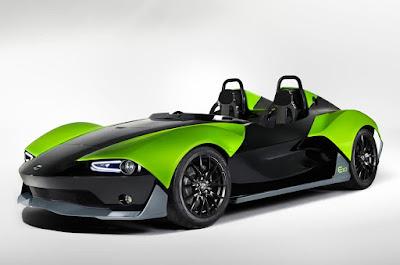 concept Plan Zenos E10 sportcar front view