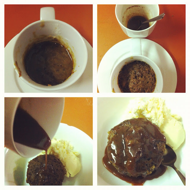 Sticky Date Mug Cake - Just For Daisy
