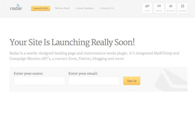 Number 10 at  20 WordPress Maintenance Mode or Under Construction Plugins That You Cant Resist