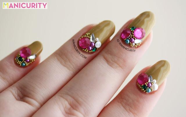 Manicurity | DIY Libertine NYFW 'Gem Party' Nails