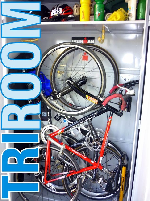 Tri room armario triatleta tritim triatlon rosario for Guardar bicicletas en el jardin