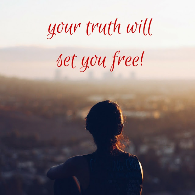 Truth...Let it set you free, Michelle Hudgins | Yes, We Rise