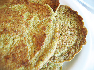 fenugreek pancakes