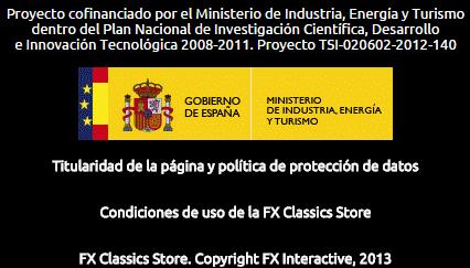 FX Classics Store - Financiación estatal