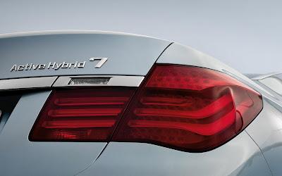 BMW Active Hybrid 7 Back HD Desktop Wallpaper