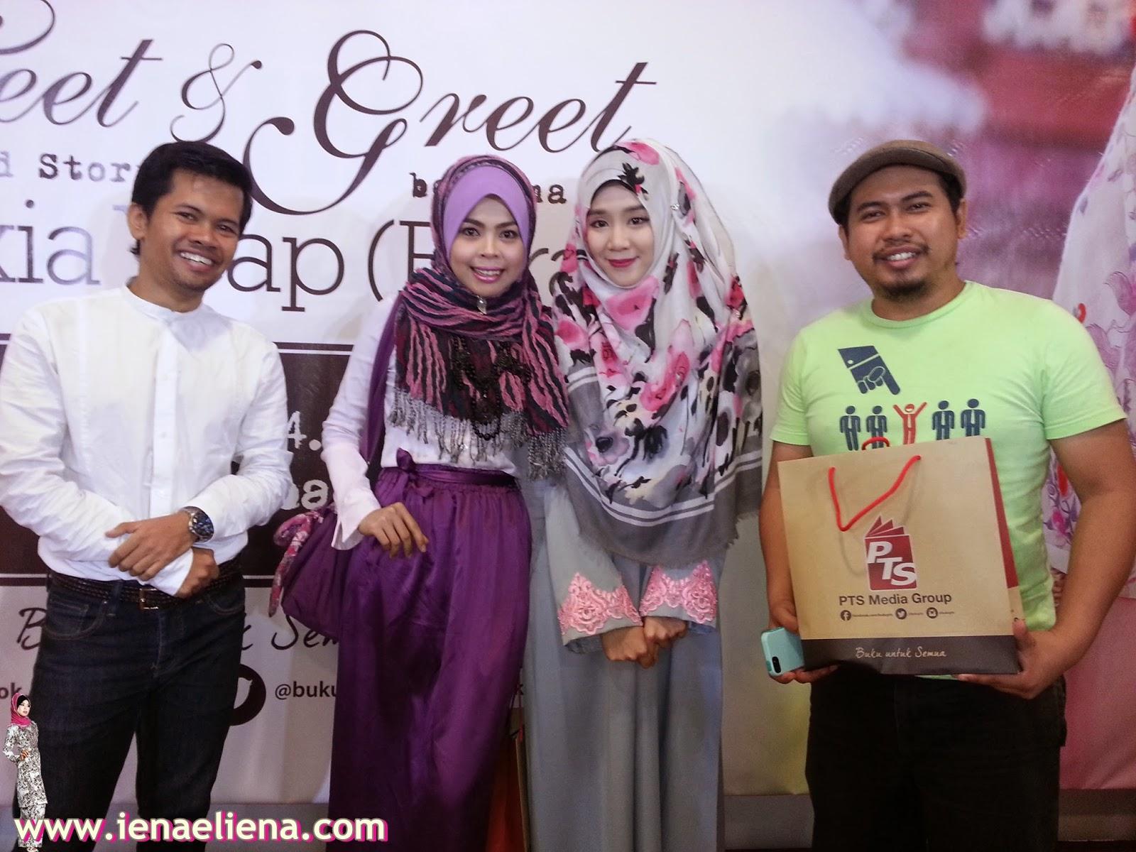 Majlis Meet and Greet bersama Felixia Yeap( Rara ) dan pelancaran buku #AmoiBerhijab