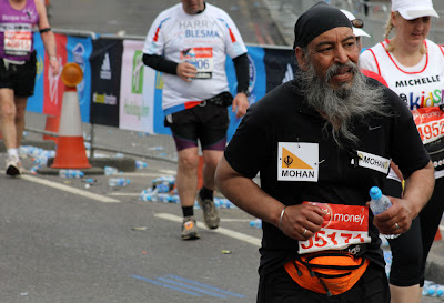 London Marathon Mohan