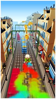 لعبة سب واي subway surf للاندرويد