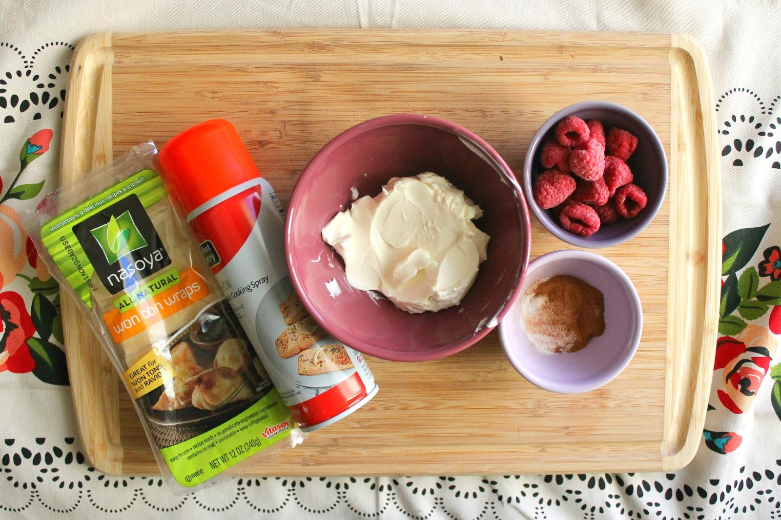 how to make sweet cream cheese wontons