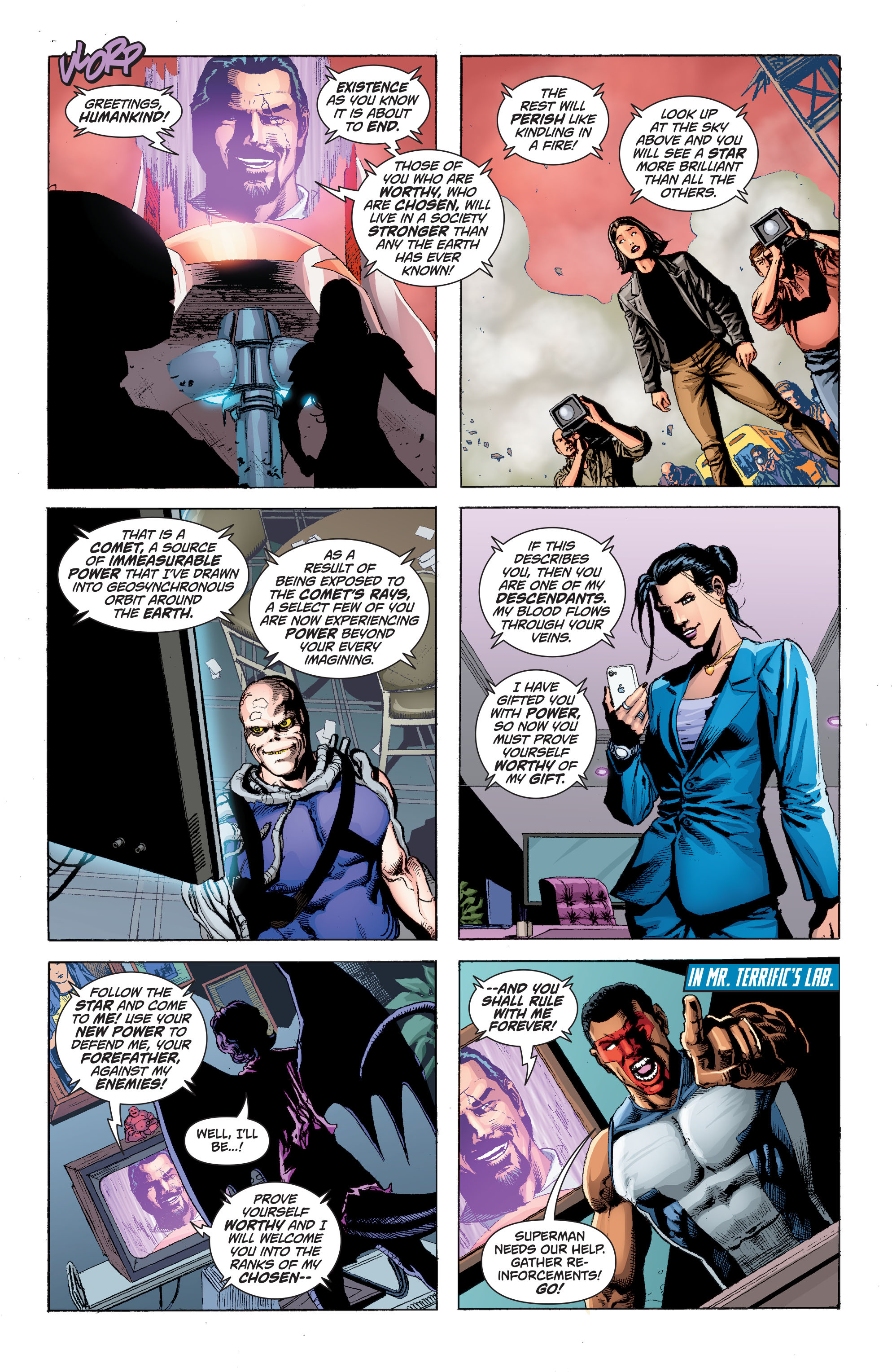 Read online Superman (2011) comic -  Issue #49 - 13