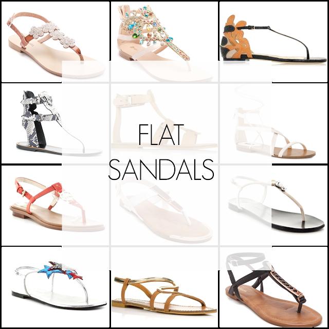 Ioanna's Notebook - Flat sandals