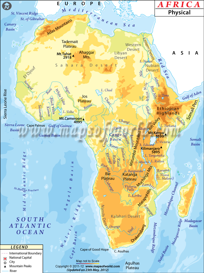 africa s physical geography Learn united states and world geography with maps that teach all of the free maps and map puzzles from owl and mouse.