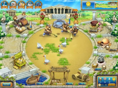 Farm Frenzy Ancient Rome Screenshots PC Game