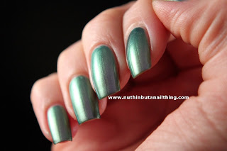 Rimmel Metal Rush Royale Blue Nail Polish