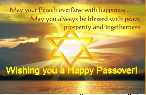 love for his people: happy passover (pesach) to our friends!