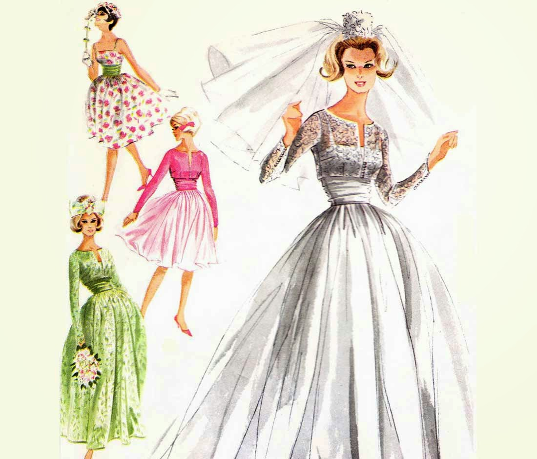 Vintage Wedding Dress Patterns Ideas Photos HD