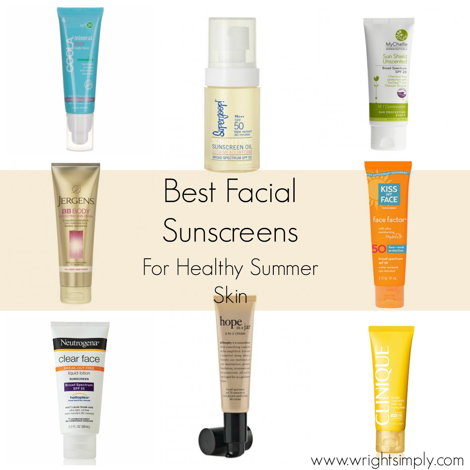 good facial sunscreen