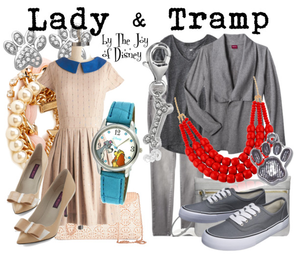 Lady and the Tramp Outfits, Lady and the Tramp, Disney Fashion