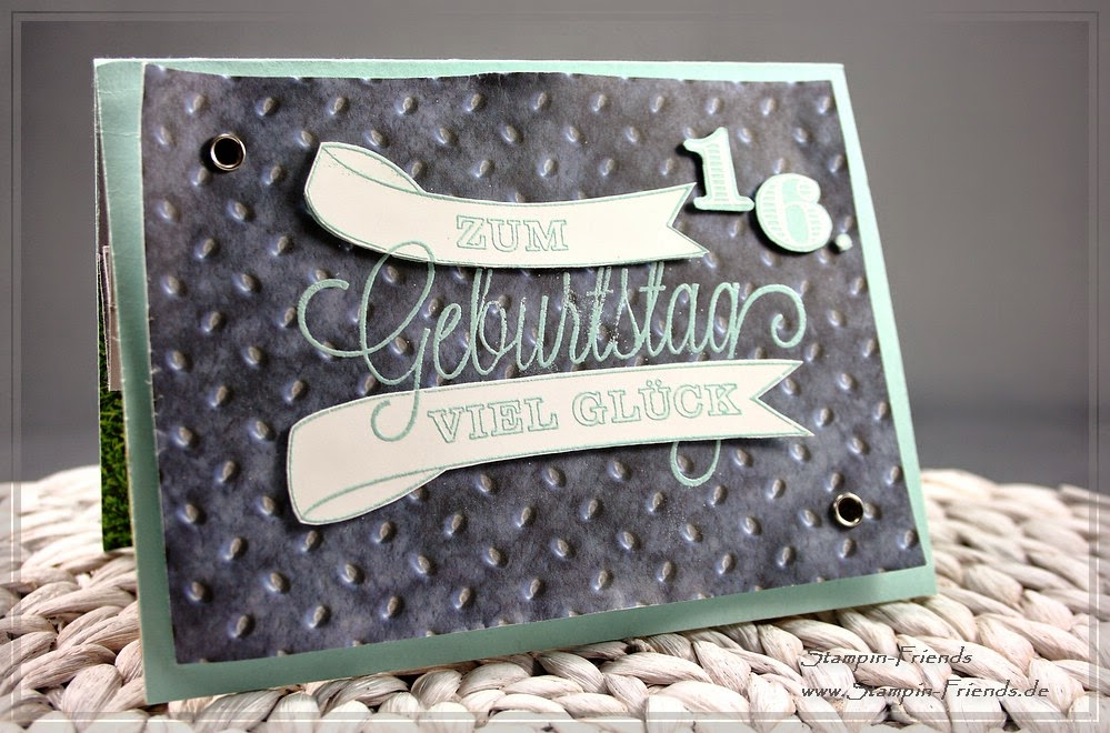 Stampin Up Pop Up Karte