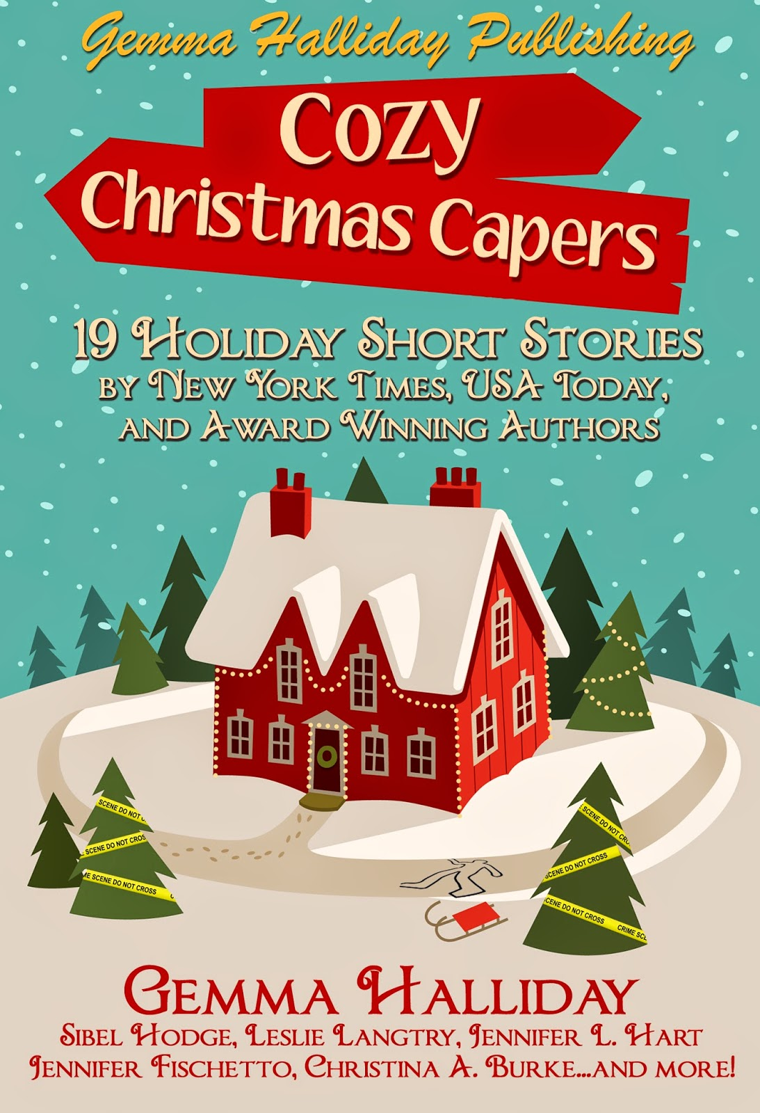 COZY CHRISTMAS CAPERS  HOLIDAY BOOK BLITZ!