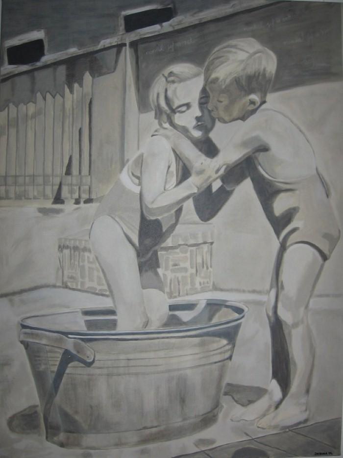 Современная бельгийская художница