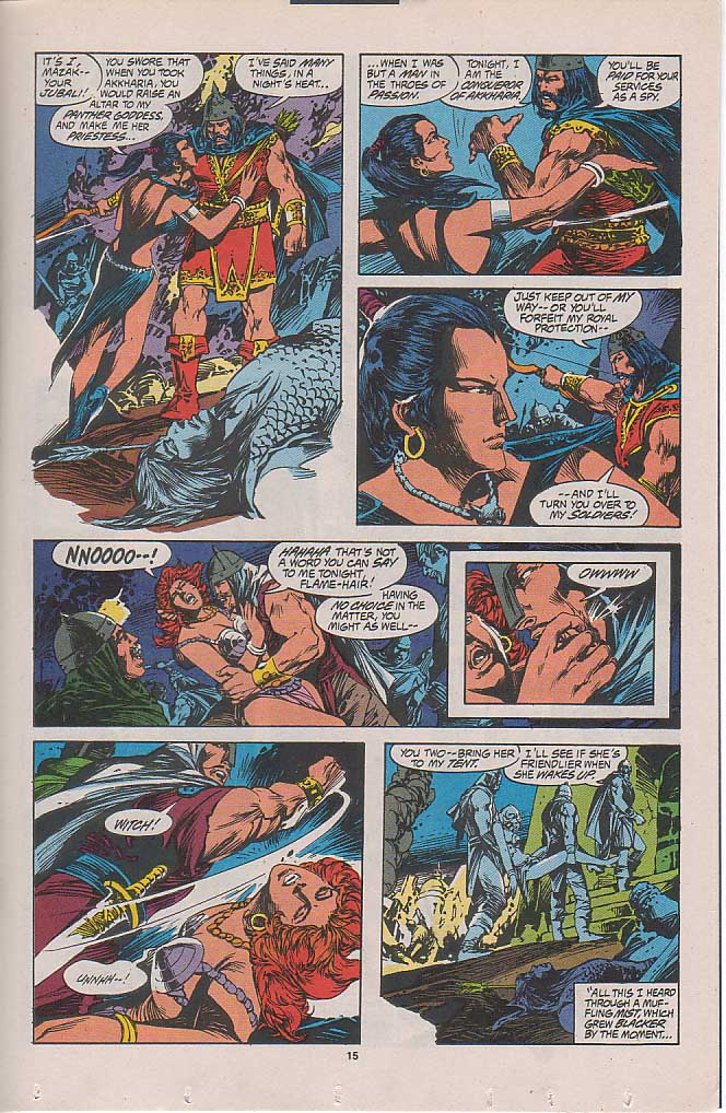 Conan the Barbarian (1970) Issue #262 #274 - English 10
