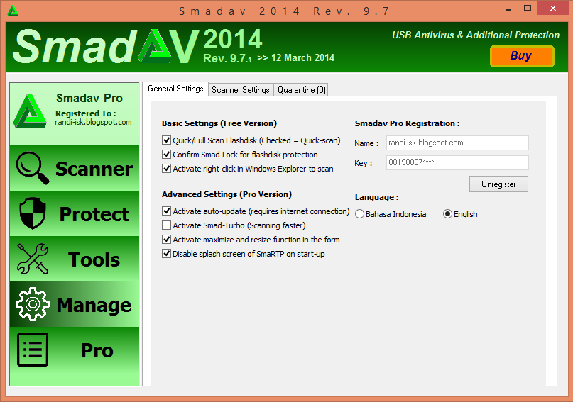 Download Smadav Pro 9.7.1 Full Seria