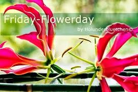 Ich bin dabei. Friday-Flowerday.