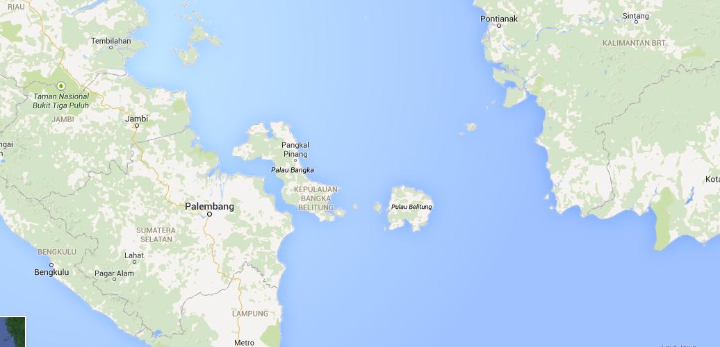 Perairan Belitung Indonesia